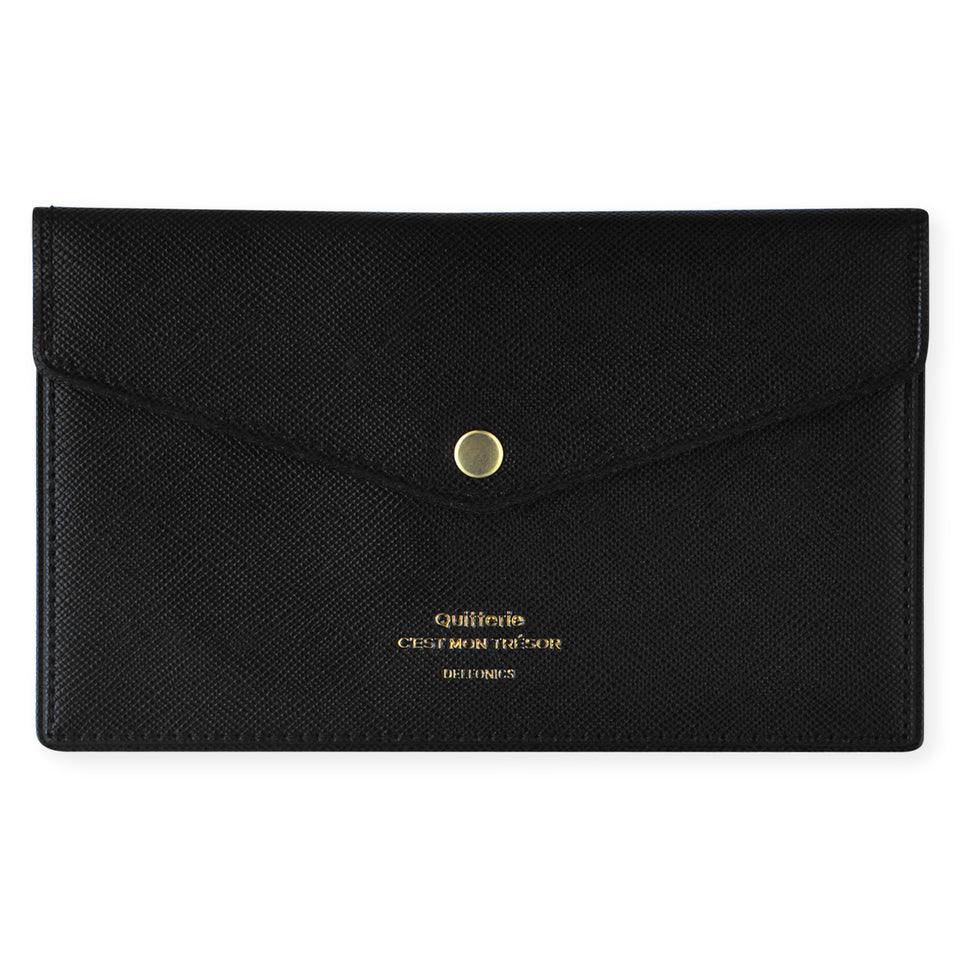 Delfonics Quitterie Multi-Card Case Pouch Black