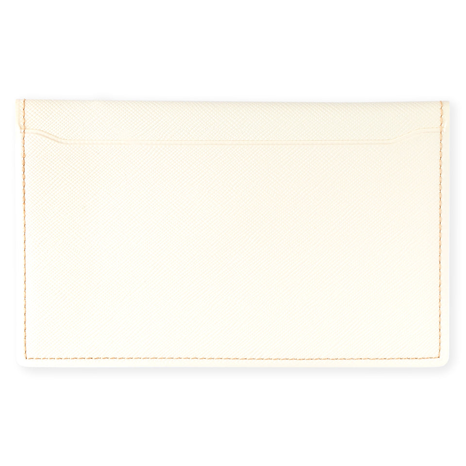 Delfonics Quitterie Multi-Card Case Pouch Cream
