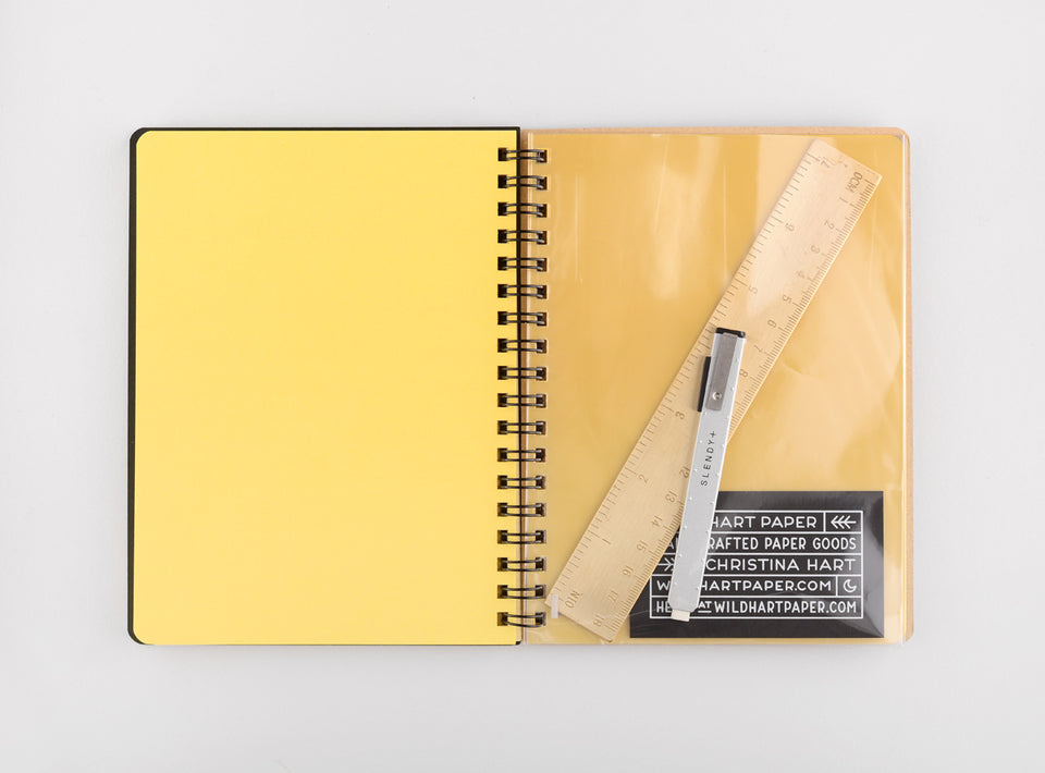 Delfonics Rollbahn Notebook Small, Large Or A5 | 6 Colors