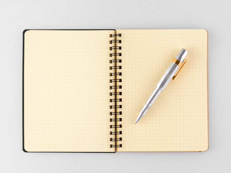 Delfonics Rollbahn Notebook Gold | In Three Sizes - GREER Chicago Online Stationery Shop
