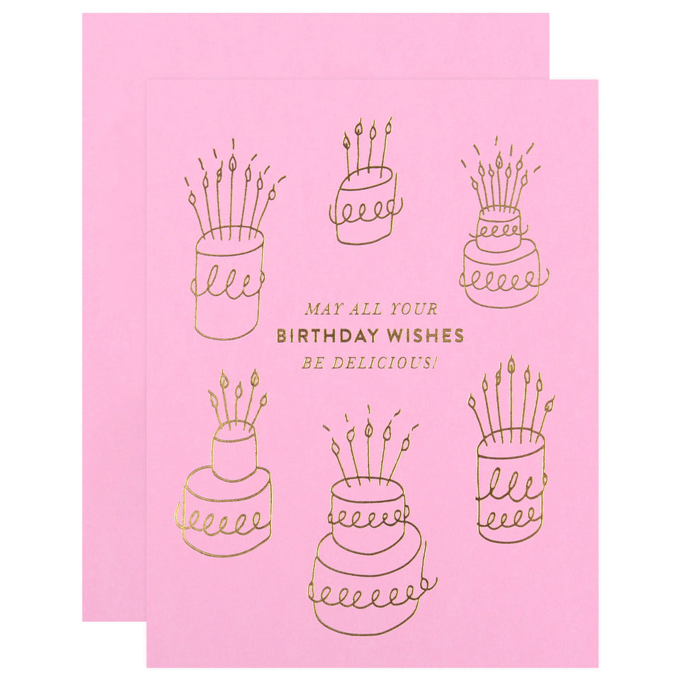 The Social Type Delicious Birthday Card