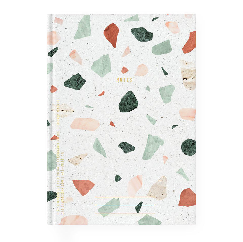 Design Works Ink Terrazzo Journal Lined