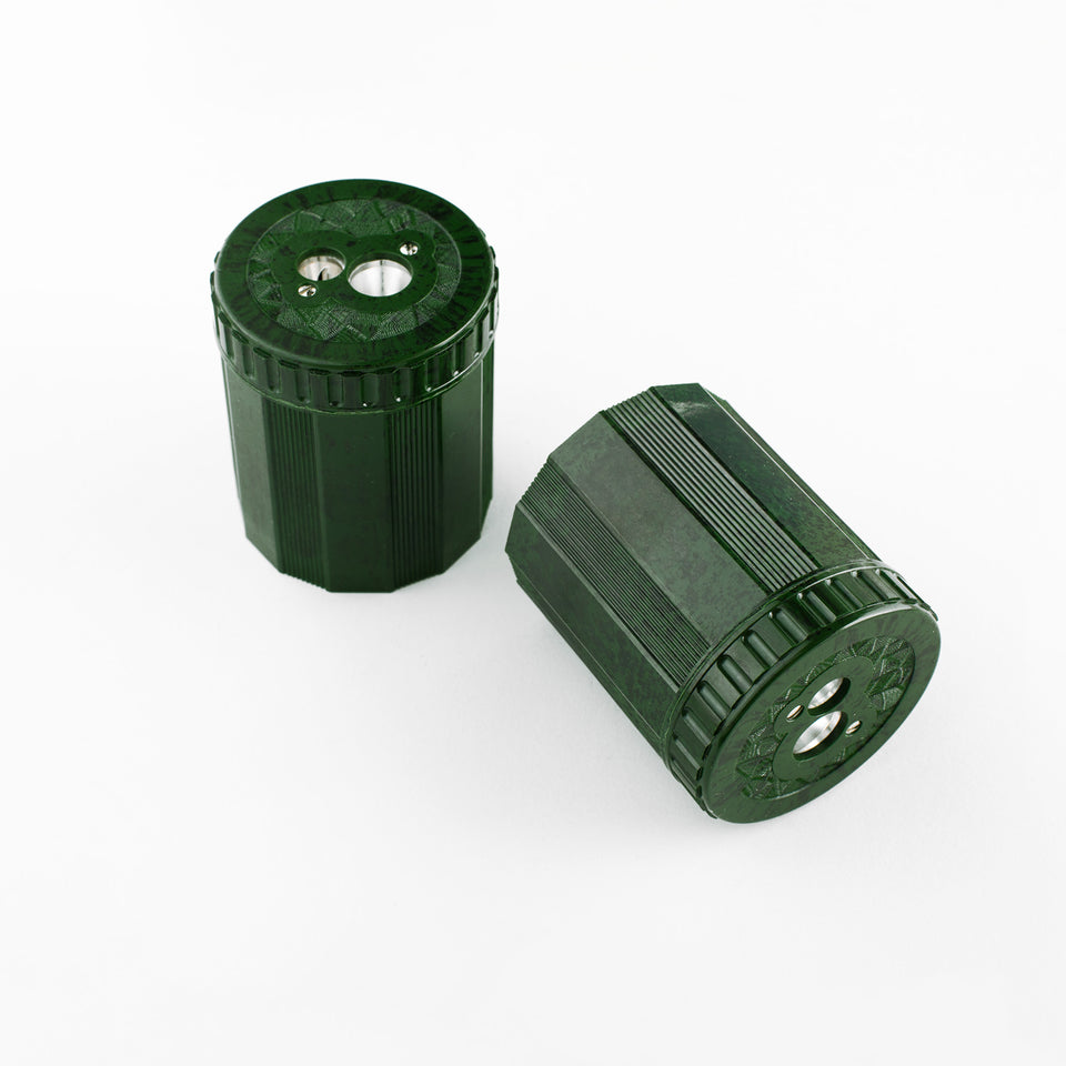 Dux DUX Duroplast Double Hole Pencil Sharpener Marbled Green