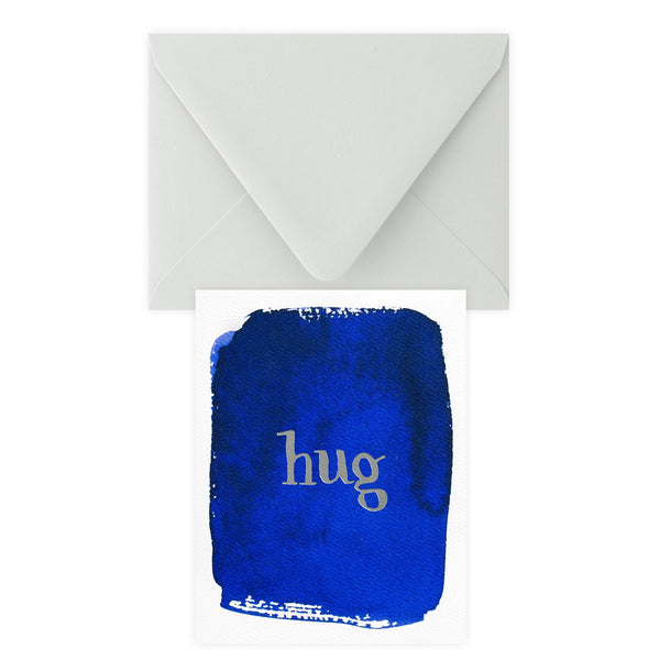 Hug Greeting Card By E. Frances Paper - 1