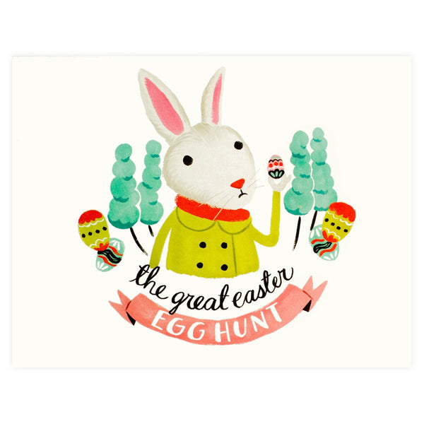 Easter Egg Hunt Card - GREER Chicago Online Stationery
