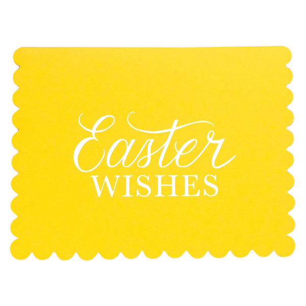 Easter Wishes Card - GREER Chicago Online Stationery