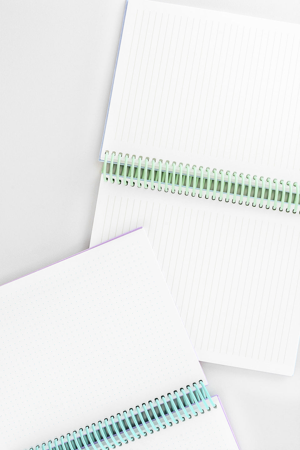 mishmash Easy Breezy Notebook | Lavender Dot Grid or Sky Blue Lined
