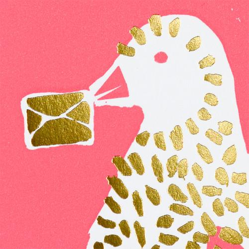 Valentine Bird Valentine's Day Card By Egg Press - 1