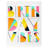 Elum Angled Vibes Birthday Card - GREER Chicago Online Stationery Shop