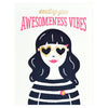 Elum Awesomeness Vibes Greeting Card - GREER Chicago Online Stationery Shop