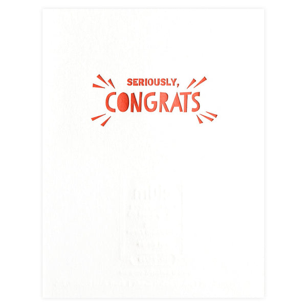 Fist Bumps Congratulations Card - GREER Chicago Online Stationery