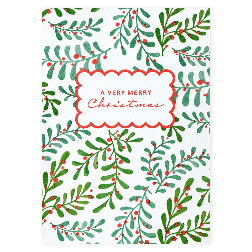 Elum Flowing Branches Christmas Cards Boxed
