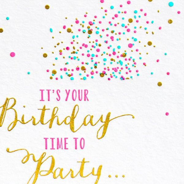 Party and Naps Birthday Card - GREER Chicago Online Stationery