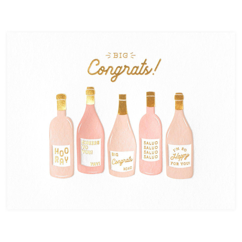 Elum Rosé Congrats Greeting Card