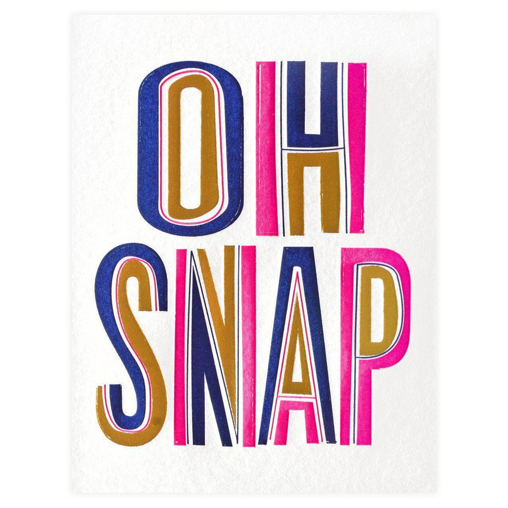 Snap Congrats Card - GREER Chicago Online Stationery