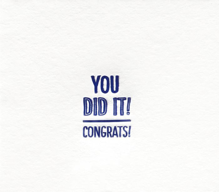 Elum Snap Congrats Card - GREER Chicago Online Stationery Shop