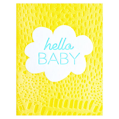 Elum Sun Peak New Baby Greeting Card - GREER Chicago Online Stationery Shop