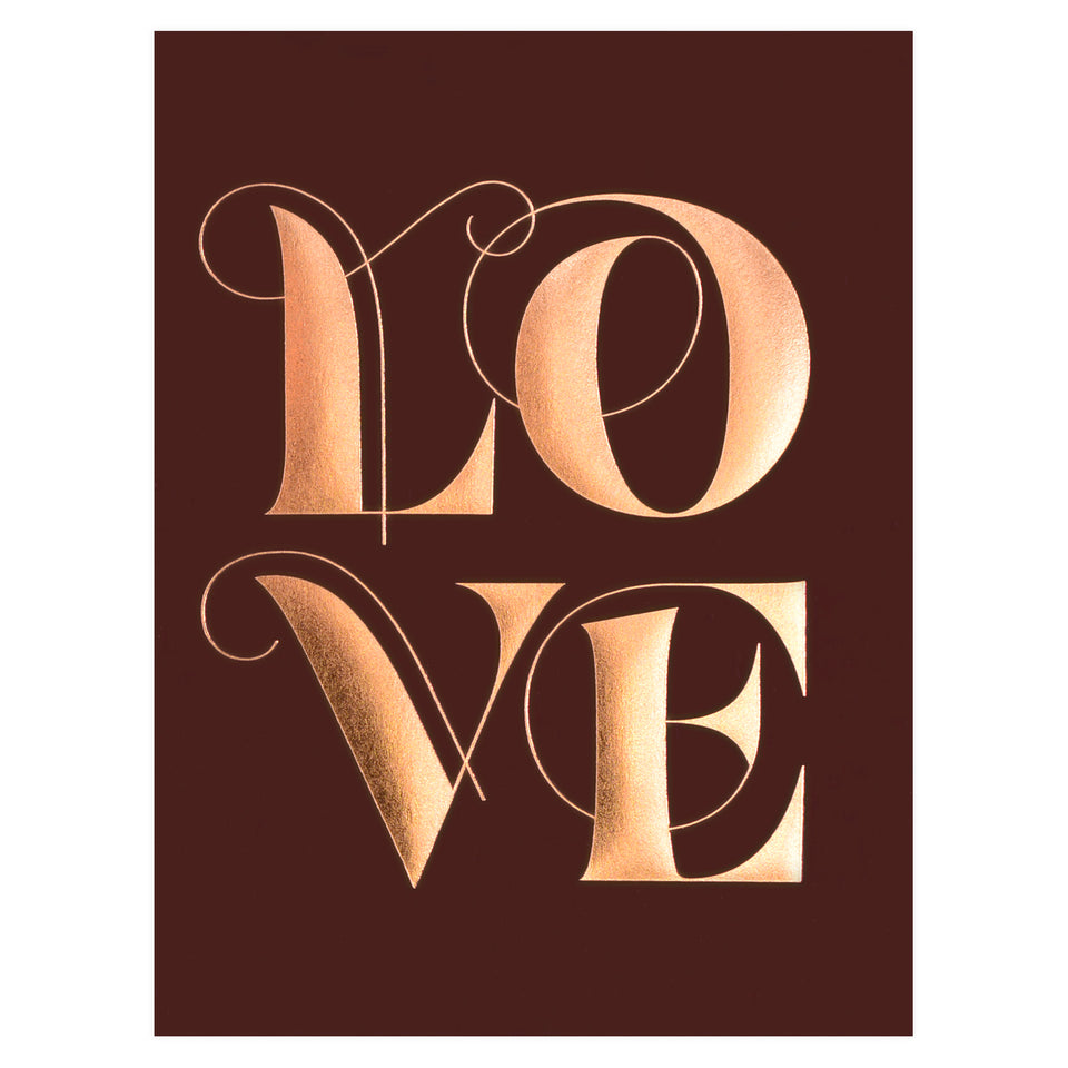 Elum Swooshy Love Greeting Card
