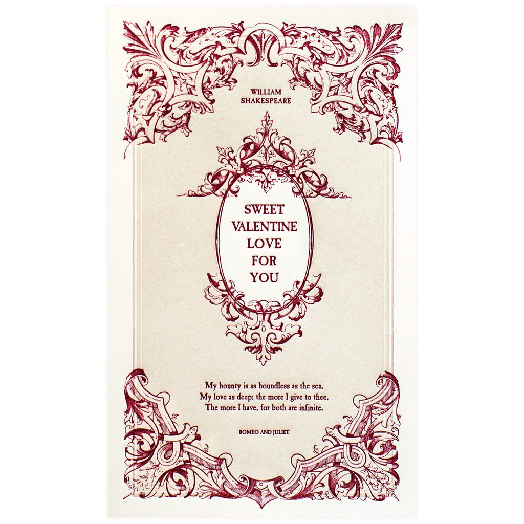 English Lit Valentine By Oblation Papers & Press - 1