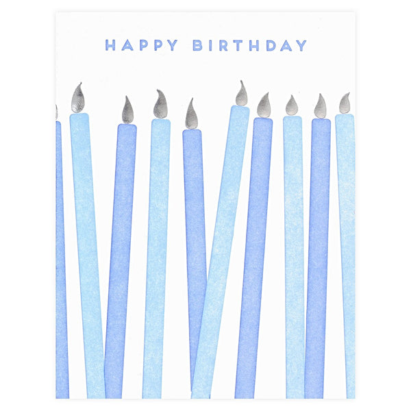 Farmwood Press Birthday Candles Card - GREER Chicago Online Stationery Shop