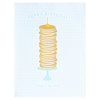 Farmwood Press Birthday Pancake Wish Card - GREER Chicago Online Stationery Shop