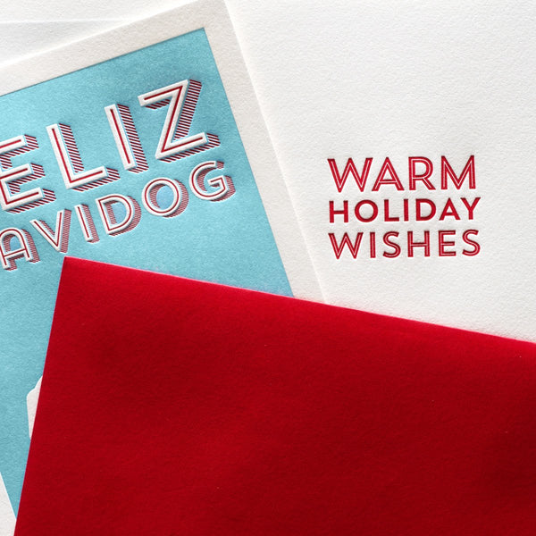 Feliz Navidog Boxed Holiday Cards - GREER Chicago Online Stationery