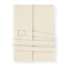 White Leather Journal Fine & Candy  - GREER Chicago