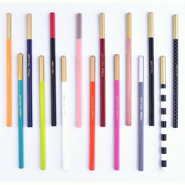 Fine & Candy Graphite Pencils in 15 colorways