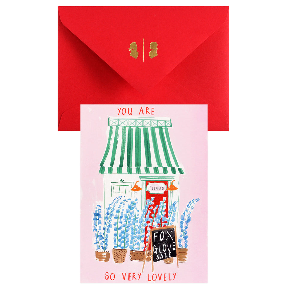 Mr. Boddington's Studio Fleur Shop Greeting Card