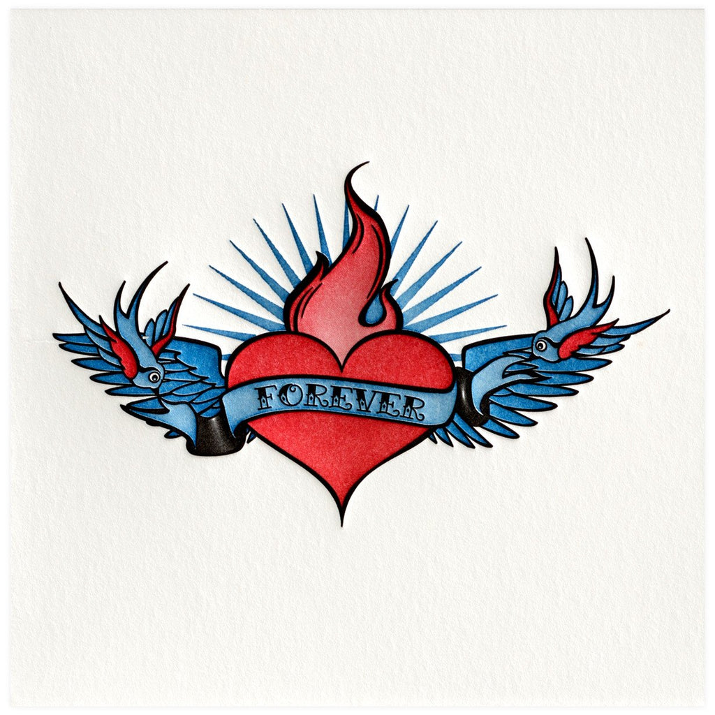 Forever Tattoo Card - GREER Chicago Online Stationery