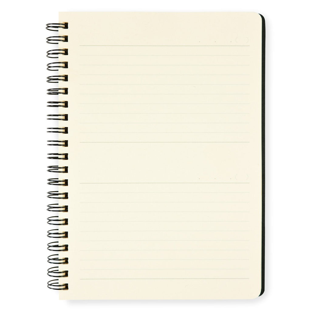 Free Diary Note A5 Planner Notebook Black - GREER Chicago Online Stationery