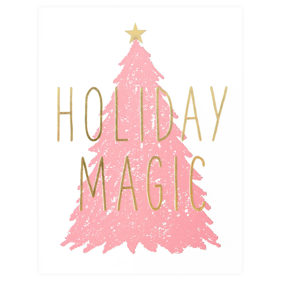 Fugu Fugu Holiday Magic Tree Christmas Cards Boxed or Single