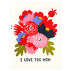Fugu Fugu I Love You Mom Mother's Day Card - GREER Chicago Online Stationery Shop