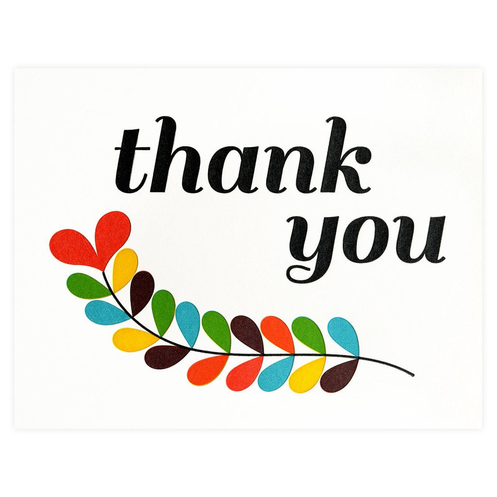 Thank You Fern Boxed Cards By Fugu Fugu - 1