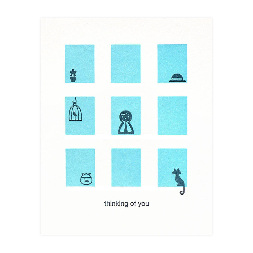 Fugu Fugu Thinking Of You Windows Greeting Card