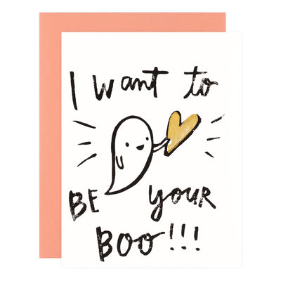 Ghost Academy Be Your Boo Greeting Card