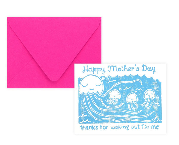 Jelly Babies Mother's Day Card - GREER Chicago Online Stationery