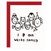 Our Weird Family Greeting Card Ghost Academy  - GREER Chicago