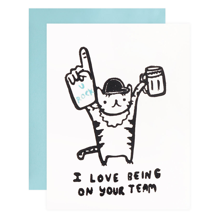 Ghost Academy Team Tiger Greeting Card