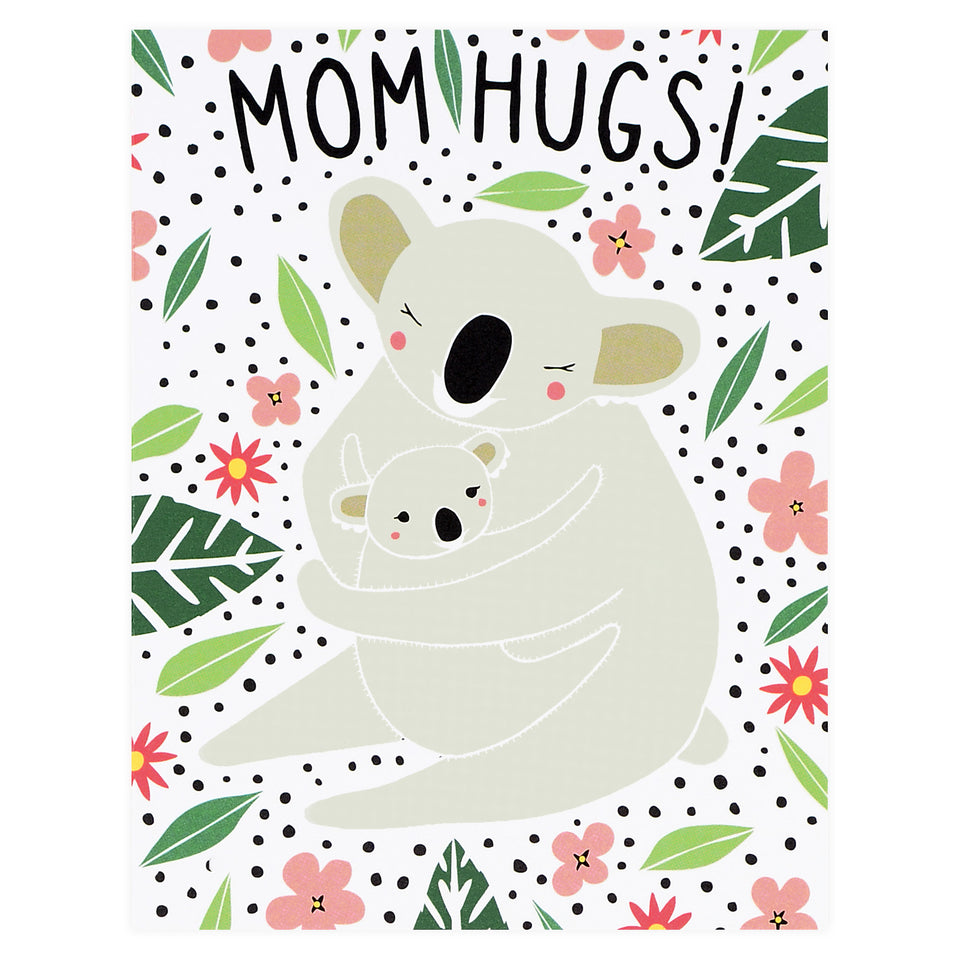 Gingiber Mom Hugs Mother's Day Card