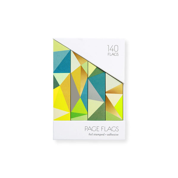 Facet Mer Gold Foil Adhesive Page Flags By Girl of All Work