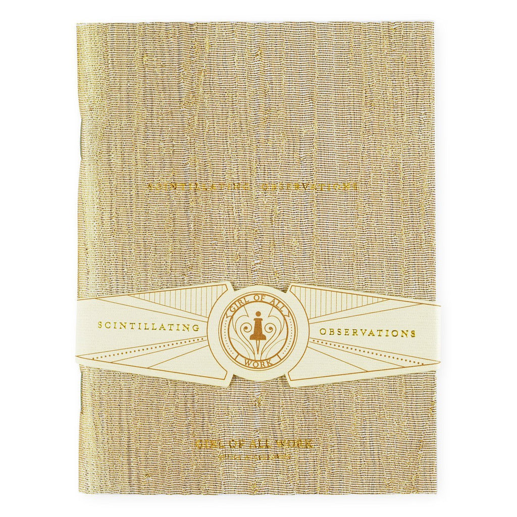 Scintillating Observations Small Notebook By Girl of All Work - 1