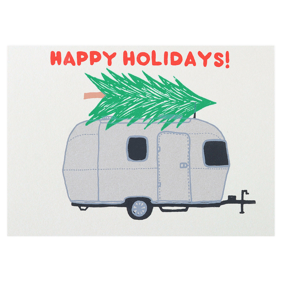 Gold Teeth Brooklyn Happy Holidays Airstream Card