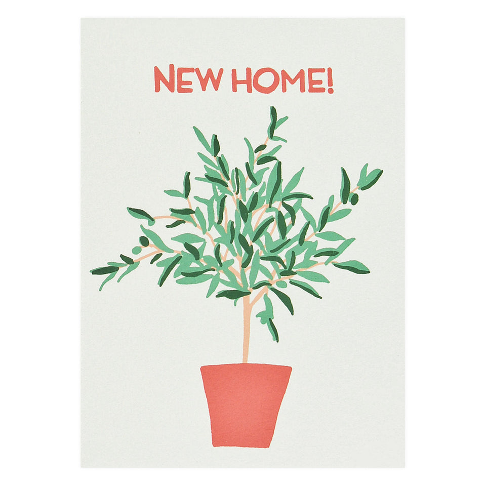 Gold Teeth Brooklyn Olive Tree New Home Card
