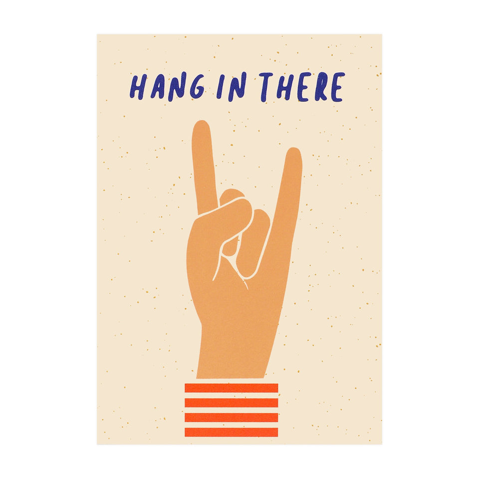 Graphic Factory Hang In There Greeting Card