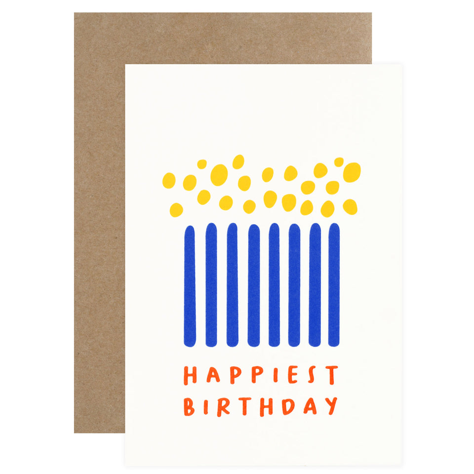 Graphic Factory Happiest Birthday Card