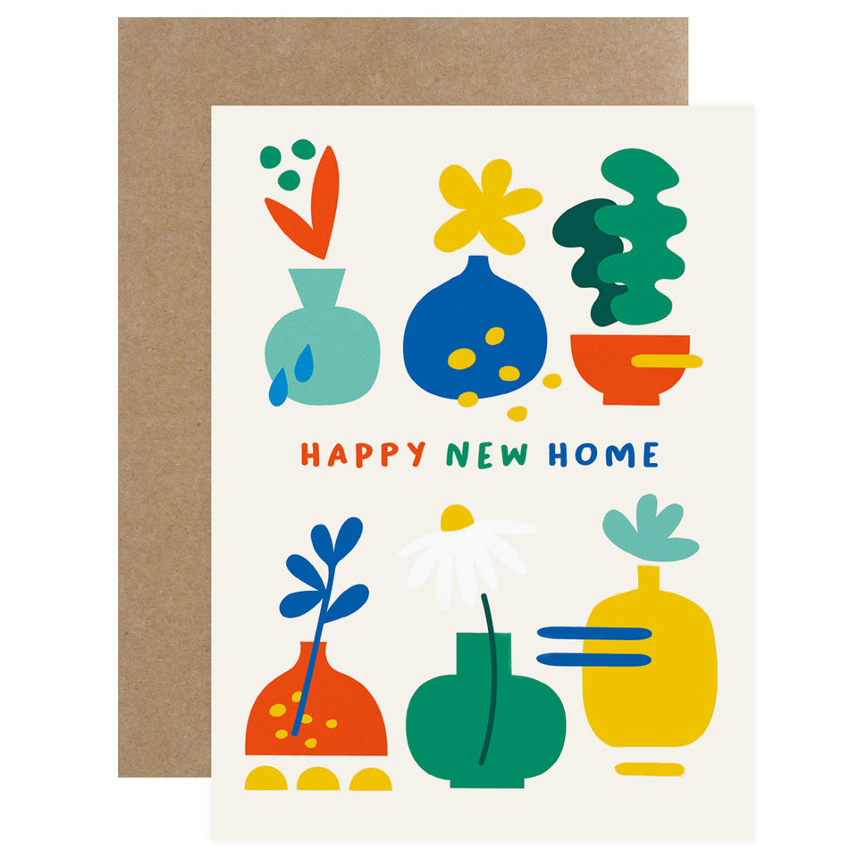 Graphic Factory Happy New Home Greeting Card