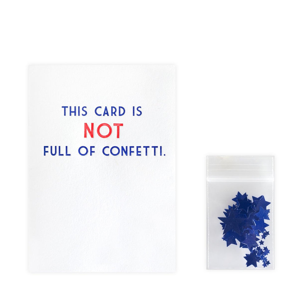 Guttersnipe Press Confetti Bomb Card