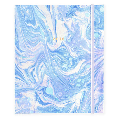 Hadron Epoch LA 2017-2018 Marble 17 Month Planners In Three Pattern Options - GREER Chicago Online Stationery Shop