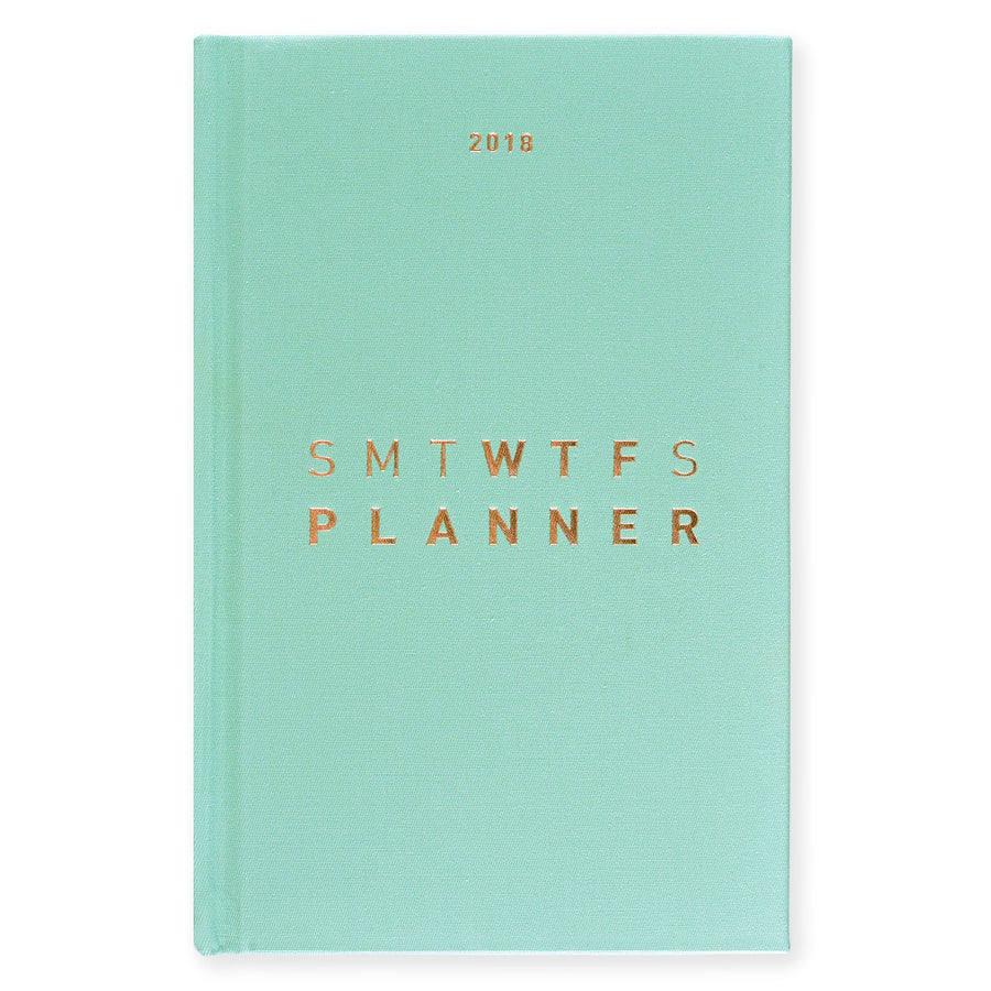 Hadron Epoch LA 2018 WTF Planners | in four colors - GREER Chicago Online Stationery Shop